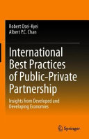 International Best Practices of Public Private Partnership