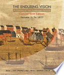 The Enduring Vision A History Of The American People Volume 1 To 1877 Concise Book