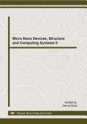 Micro Nano Devices  Structure and Computing Systems II