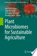 Plant Microbiomes for Sustainable Agriculture Book