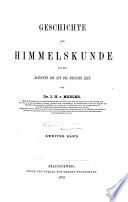 Geschichte der Himmelskunde