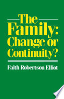 The Family  Change or Continuity