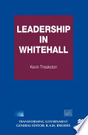 Leadership in Whitehall