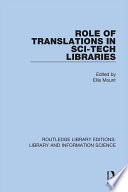 Role of Translations in Sci Tech Libraries