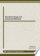 Nanotechnology and Advanced Materials Book
