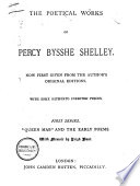 The Poetical Works Of Percy Bysshe Shelley Book PDF