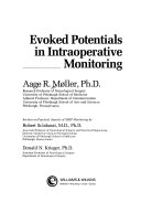 Evoked Potentials in Intraoperative Monitoring