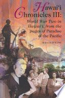Hawaii Chronicles III Book