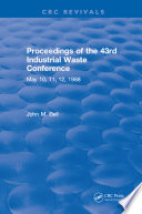 Proceedings of the 43rd Industrial Waste Conference May 1988  Purdue University