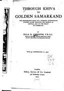 Through Khiva to Golden Samarkand Book