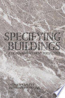 Specifying Buildings Book
