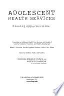 Adolescent Health Services Book