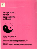 Manpower Needs Assessment in Illinois, Ford County