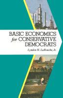 Basic Economics for Conservative Democrats Pdf/ePub eBook