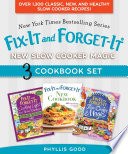 Fix It And Forget It New Slow Cooker Magic Box Set