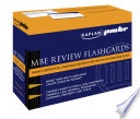 MBE Review Flashcards