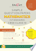 CBSE Maths Standard Sample Question Papers For Class 10  For March 2020 Exam