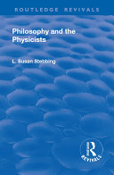 Revival: Philosophy and the Physicists (1937)