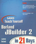 Sams Teach Yourself JBuilder 2 in 21 Days Book