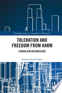 Toleration And Freedom From Harm