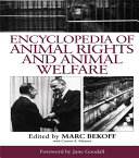 Encyclopedia of Animal Rights and Animal Welfare Pdf/ePub eBook