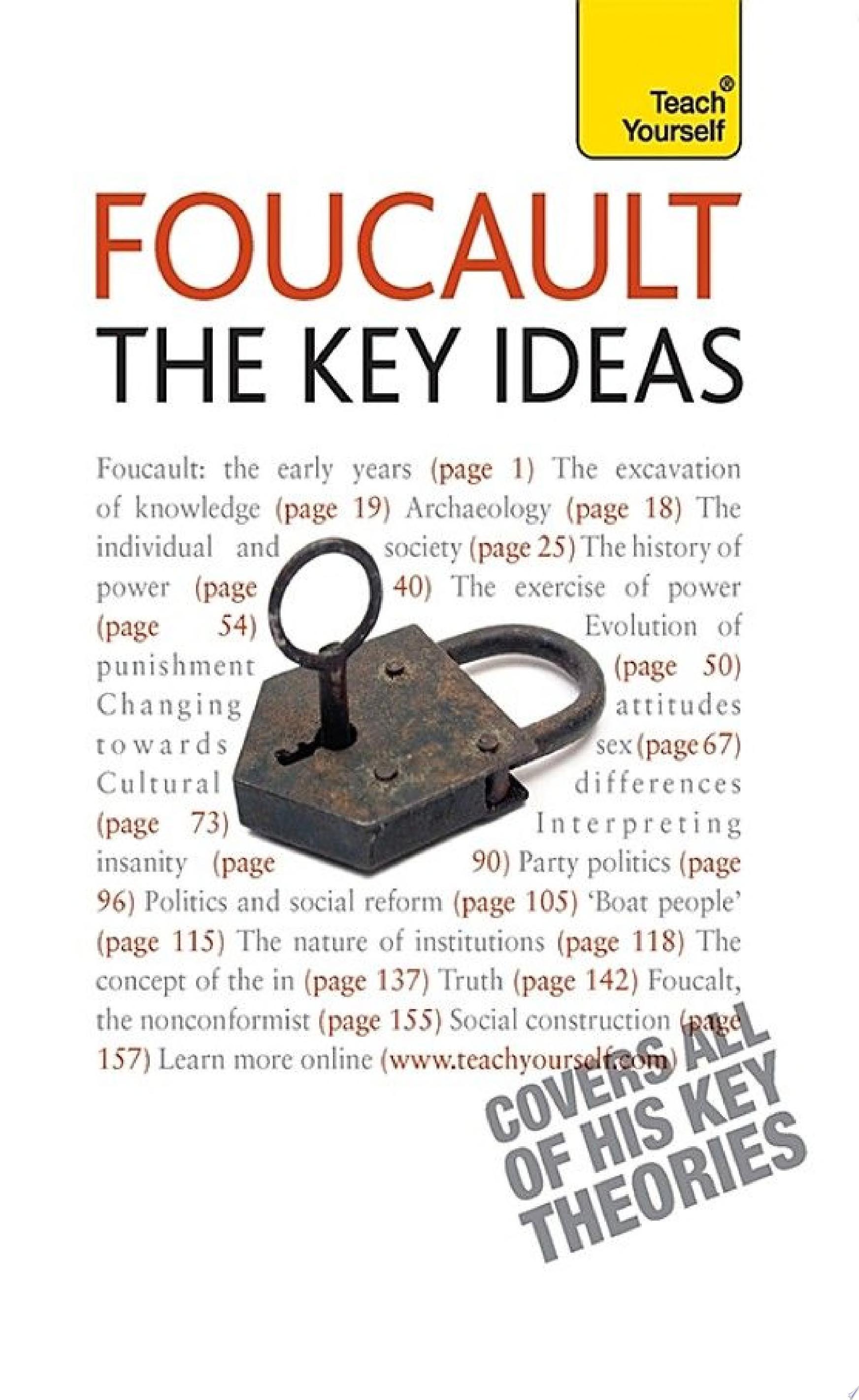 Foucault   The Key Ideas