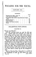 MAGAZINE FOR THE YOUNG  1859