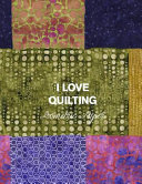 I Love Quilting Isometric Paper  8 5x11 Quilt Designing Workbook Featuring Triangular Grid Paper