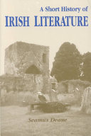 A Short History Of Irish Literature