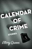 Calendar of Crime Book