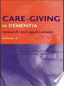 Care Giving In Dementia V3