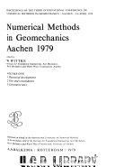 Numerical methods in geomechanics, Aachen, 1979