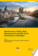 Maintenance, Safety, Risk, Management and Life-Cycle Performance of Bridges
