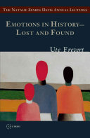 Emotions in History – Lost and Found