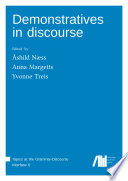 Demonstratives in discourse