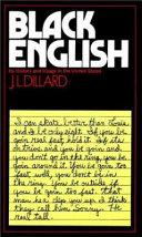 Black English
