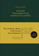 Na28 Novum Testamentum Graece Et Latine Book