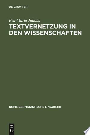 [pdf - epub] Textvernetzung in den Wissenschaften - Read eBooks Online