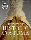 Survey of Historic Costume Book PDF