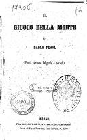 Il giuoco della morte di Paolo Feval