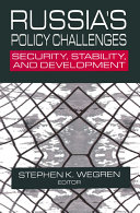 Russia s Policy Challenges  Security  Stability and Development