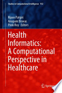 Health Informatics A Computational Perspective In Healthcare