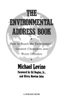 The Environmental Address Book