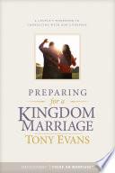 Preparing for a Kingdom Marriage Book