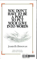 You Don t Have to Be a Poet to Put Your Love Into Words