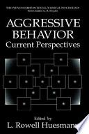 Aggressive Behavior Book PDF