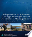 Adaptation to Climate Change through Water Resources Management Book