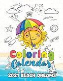 Coloring Calendar 2021 Beach Dreams