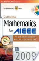 Complete Maths For Aieee 2009
