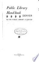 Public Library Handbook